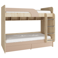 Ліжко Юніор 2х ярусна 90х200 - фабрики Фенікс